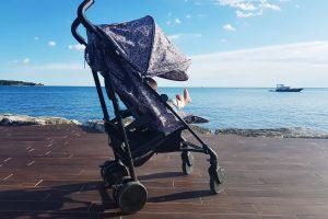 Otroški športni voziček Elodie details Petite botanic: Najin zvest štirikolesni prijatelj