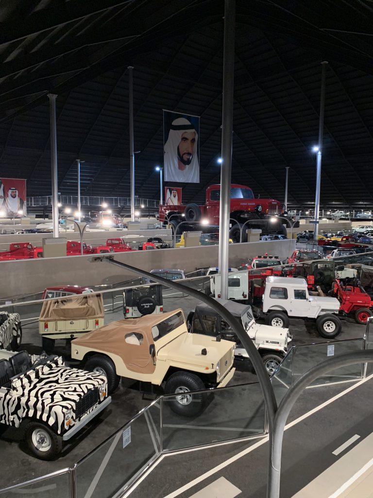 Zbirka avomobilov v muzeju