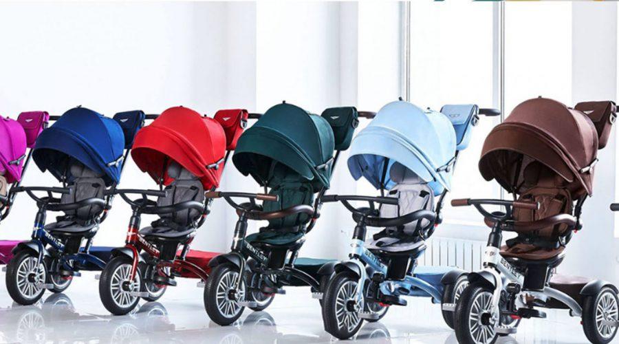 Bentley Trike: tricikel, ki raste z otrokom