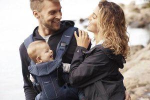 V gibanju z dojenčkom